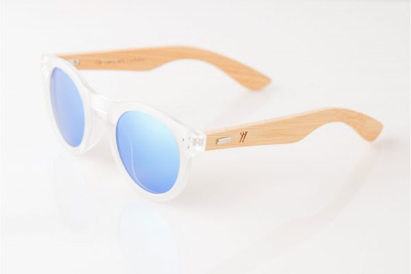 Amevie bamboo sunglasses - Del Mar