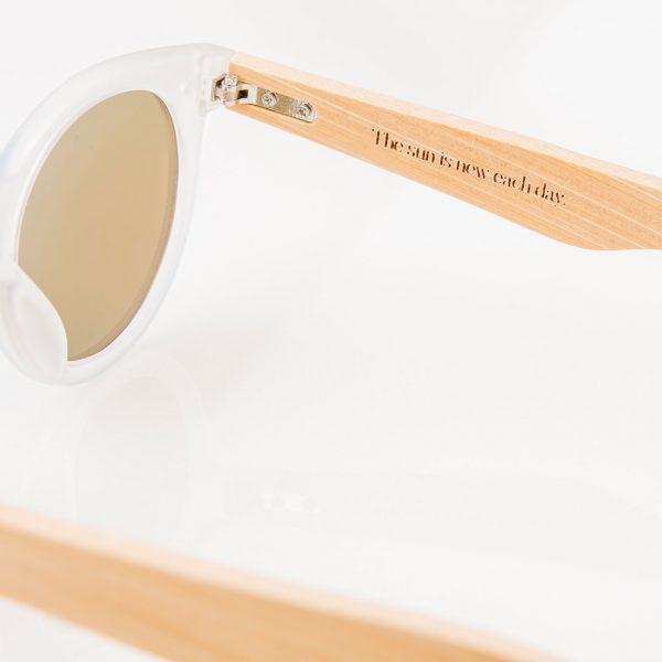 Amevie bamboo sunglasses - Del Mar