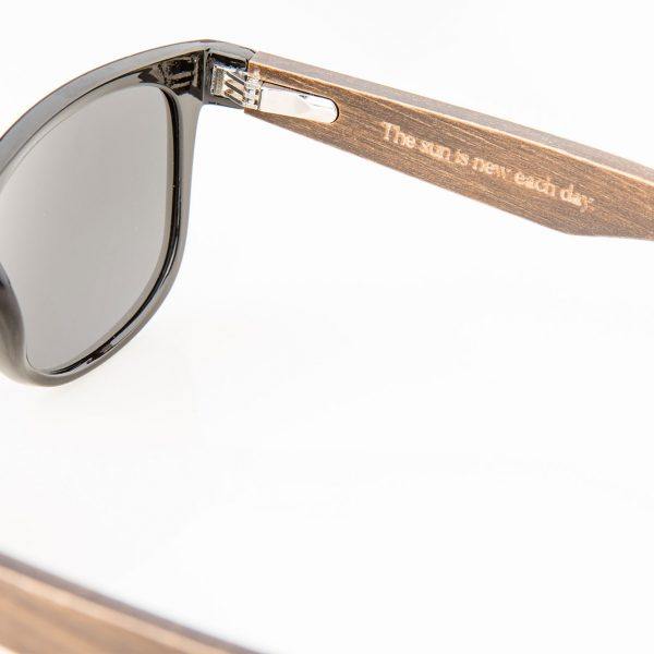 Amevie bamboo sunglasses - Laguna Black