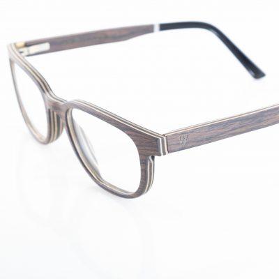 Amevie wood eyeglasses