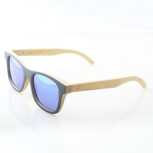Blue Lagoon Bamboo Sunglasses